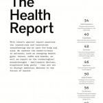 Protein Journal - The Health Report section index