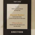 The GhostFood Menu
