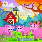 Fantasy Farm illustration
